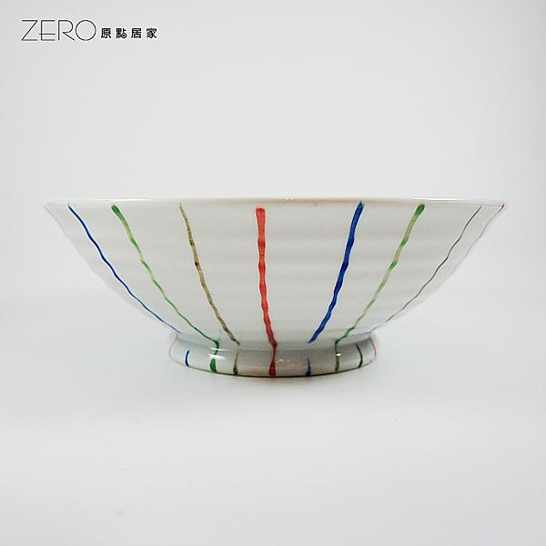 原點居家 日式條紋 飯碗 湯碗 麵碗(小)700cc