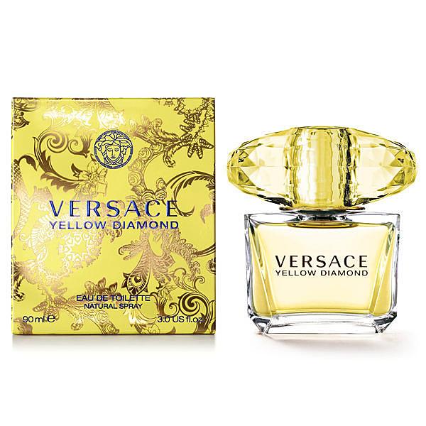 Versace 凡賽斯 Yellow Diamond 香愛黃鑽 女性淡香水 90ML 送品牌小香【七三七香水精品坊】