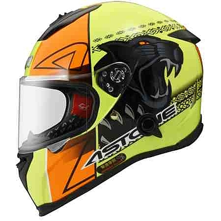 ASTONE安全帽,GTB800,AO5/螢光黃橘