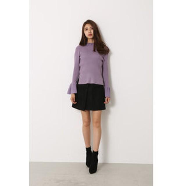 SALE開催中【rienda:スカート】Lace bonding J/W SK