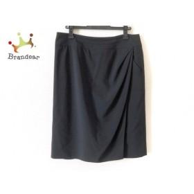 アルマーニコレッツォーニ ARMANICOLLEZIONI スカート サイズ44 L レディース 黒 新着 20191112