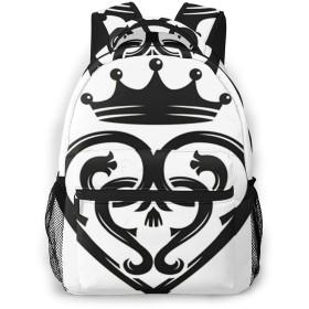 リュック バック ブローチ, リュックサック ビジネスリュック メンズ レディース カジュアル 男女兼用大容量 通学 旅行 鞄 カバン