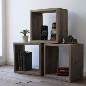 【SALE】wood BOX 〈古材〉