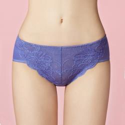 【曼黛瑪璉】包覆提托經典低腰寬邊三角內褲(哥德藍)