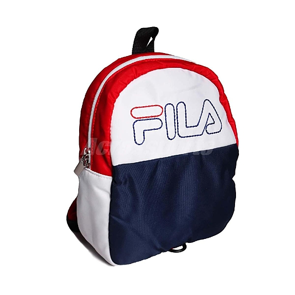 Fila 後背包 Mini Backpack 藍 白 紅 女款 兒童款 迷你背包 【ACS】 BPT9017BU