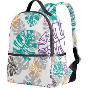 リュック リュックサック バックパック レディース 学生 大容量 デイバッグ 葉柄 おしゃれ 通勤 通学