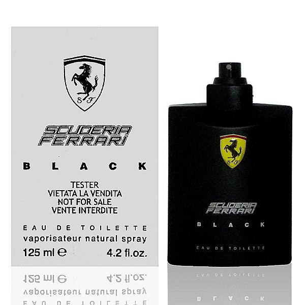 Ferrari Scuderia Farrari Black 黑色法拉利淡香水 125ml Tester 包裝