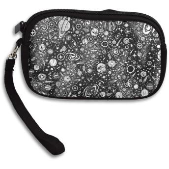 スペース 小銭入れ 財布 メンズ財布 レディース財布 おしゃれ ジッパー コインケース 大容量 コインケース ファッション小物
