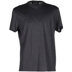 《セール開催中》NEIL BARRETT メンズ T シャツ スチールグレー S コットン 100%