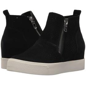 [スティーブマデン] シューズ スニーカー Wedgie-P Sneaker Black Sued レディース [並行輸入品]