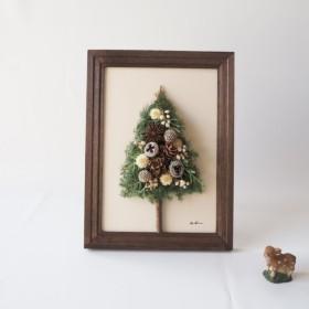 ︎再販開始!北欧の森のクリスマスツリー ︎洋書ペーパー一枚おまけ付き
