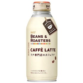 UCC BEANS&ROASTERS CAFFE LATTE(ビーンズロースターズ カフェラテ) 375gリキャップ缶×24本入×(2ケース)