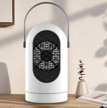 黑桃A 迷妳卡通暖風機 辦公室桌面搖頭取暖器 小型電暖器臺件代發 海角七號 聖誕節禮物