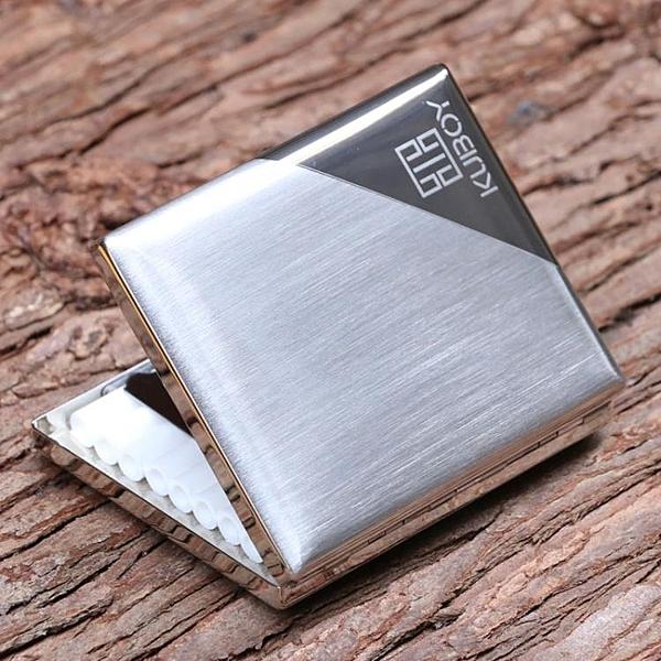 金屬菸盒 20支裝便攜超薄男士送禮正品