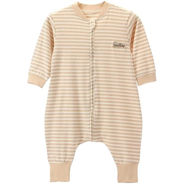 嬰兒睡袋分腿夏季純棉兒童防踢被彩棉新生兒可拆袖春季空調房睡衣 米希美衣