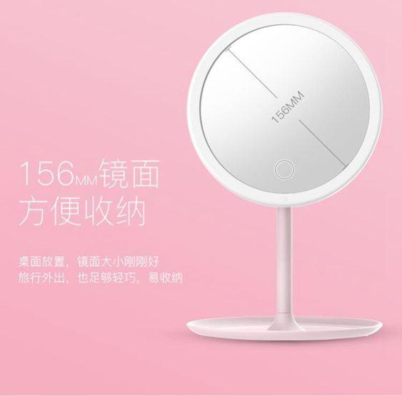 化妝鏡 歐式實木粘貼浴室鏡子化妝梳妝洗手間廁所衛生間貼牆帶框免打孔