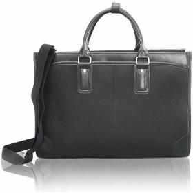 ビジネスバッグ ブラック 就職活動最適 自立 撥水 通勤バッグ 2WAY