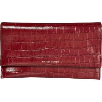 REBECCA MINKOFF(レベッカミンコフ) バッグ ハンドバッグ Wallet Clutch Pinot Noir レディース [並行輸入品]
