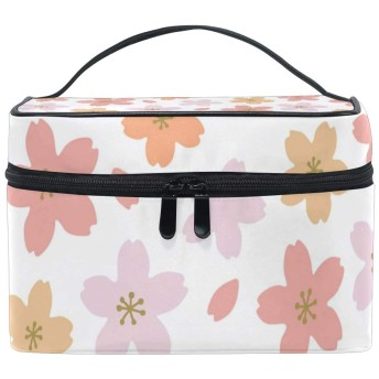 La Rose 化粧箱 化粧ポーチ 大容量 おしゃれ 花 和式 軽量 小物入れ 持ち運び かわいい 多機能 コスメポーチ メイクポーチ 収納バッグ 出張 旅行 プレゼント