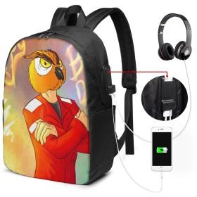 ゲーミングヴァノス リュック バックパックリュックサック USB充電ポート付き イヤホン穴付き 大容量 PCバッグ レジャーバッグ 旅行カバン 登山リュック ビジネスリュック ユニセックス おしゃれ 人気