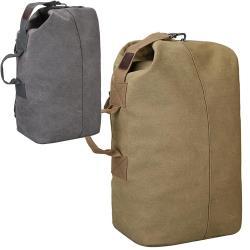 iSPurple 率性正裝 大容量圓桶帆布男性後背包 2色可選