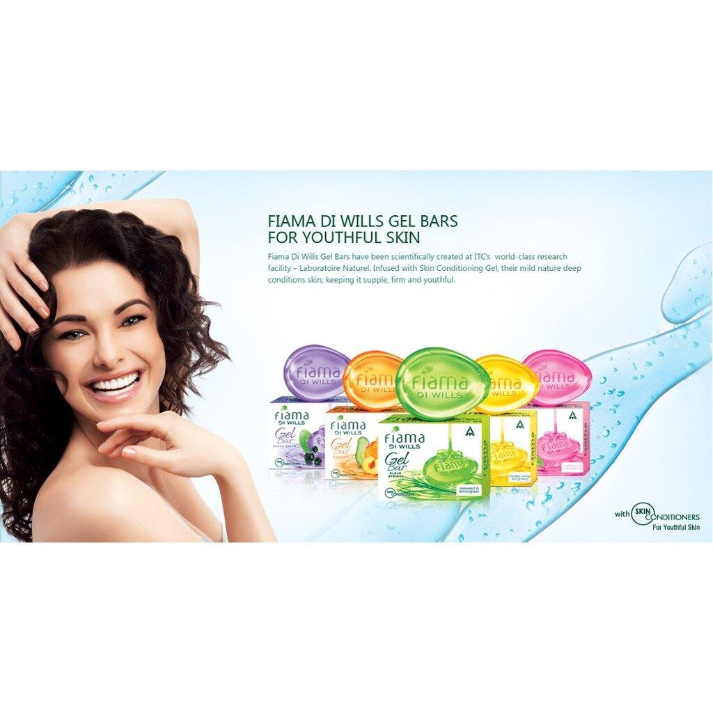 [綺異館] 印度香皂 頂級精油皂 熊果+茶藨子 125g FIAMA GEL BAR -BEARBERRY