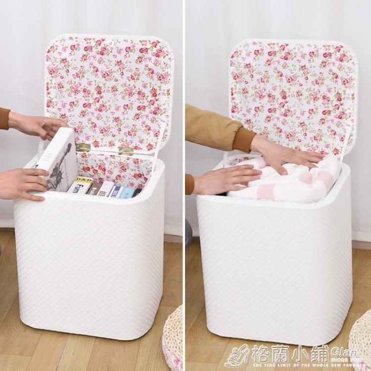 11.11超值折扣 多功能收納凳子實木可坐成人時尚沙發儲物凳皮整理箱家用換鞋椅子ATF