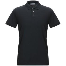 《セール開催中》SELECTED HOMME メンズ ポロシャツ ブラック XXL コットン 95% / ポリウレタン 5%