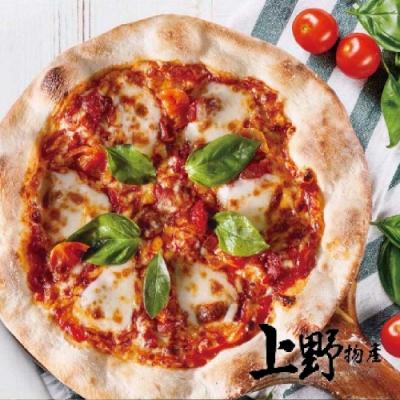 上野物產-8吋瑪格麗特水牛乳酪披薩 x16片(200g土10%/片)