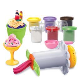 孩子國 聲光益智黏土玩具組-美食點心