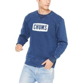[チャムス] トレーナー CHUMS Logo Crew Top Indigo 日本 M (日本サイズM相当)