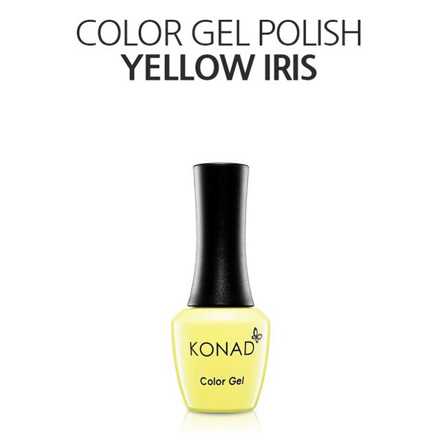 KONAD可卸式彩色凝膠-057 Yellow Iris