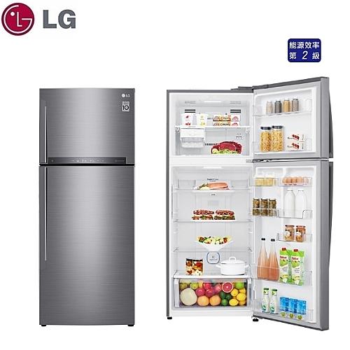 可申請退稅補助【LG】438L 直驅變頻 雙門電冰箱《GI-HL450SV》星辰銀 壓縮機十年保固(含拆箱定位)