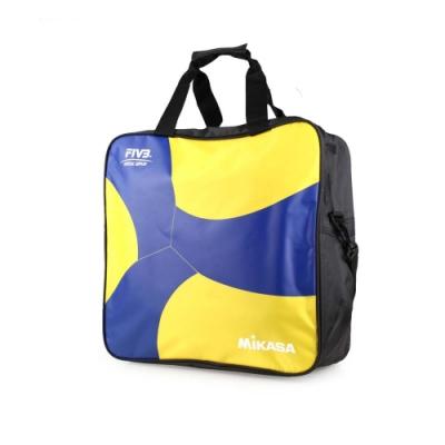 MIKASA 排球袋4顆裝 藍黃黑