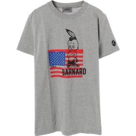 JOHN'S CLOTHING BARNARD USA Tシャツ Tシャツ・カットソー,T/GRAY