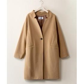 ノッチカラーコート【stairs】 (大きいサイズレディース)コート, plus size, Coat, 大衣