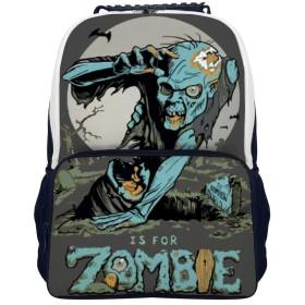 リュック リュックサック 通学 軽量 Z Is for Zombie 大容量 通勤 カジュアル アウトドア シューズカバン 出張 PC収納可能 双肩バッグ 旅行 バックパック 男女兼用