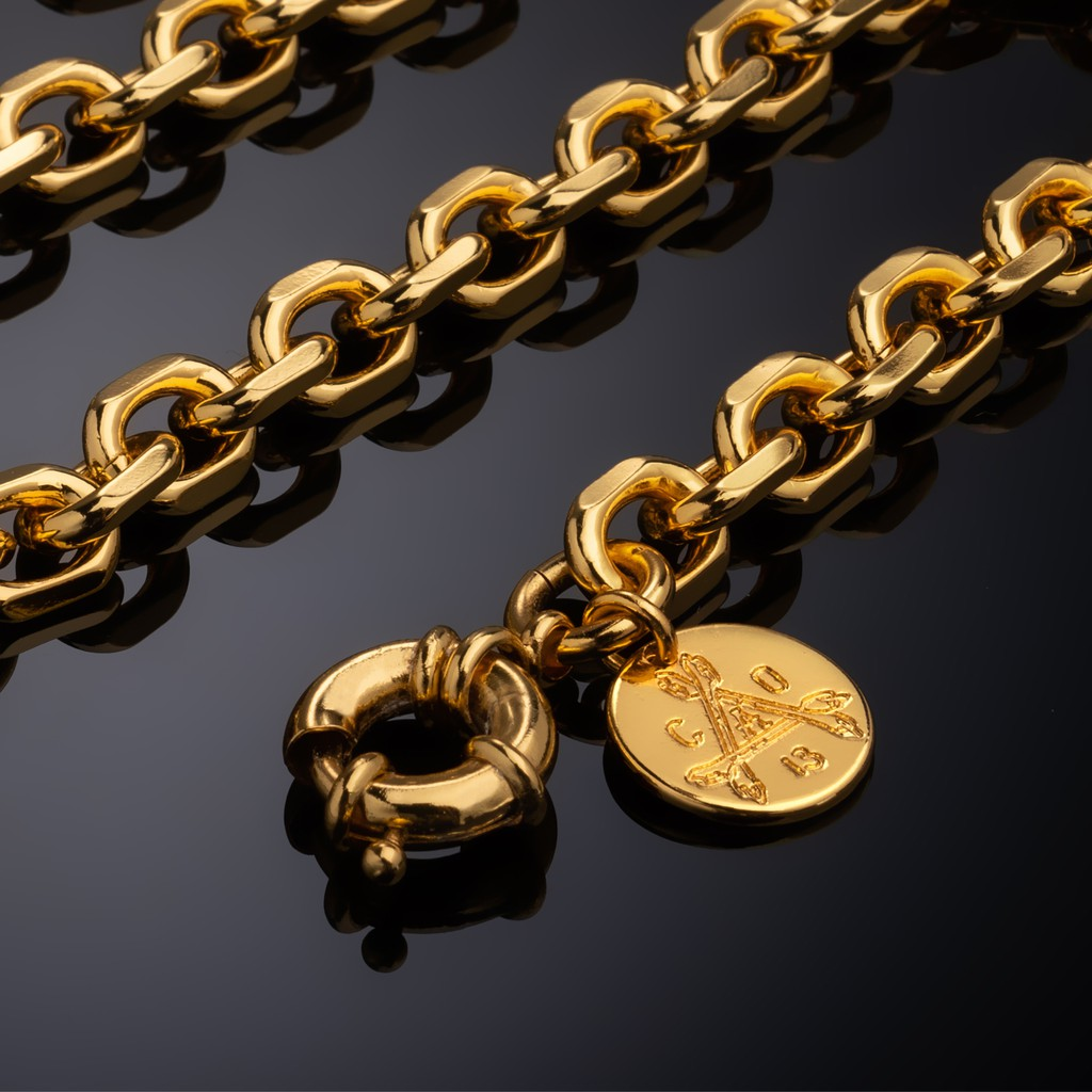 【CABRON】LUXURIA BET Necklace 枷鎖項鍊