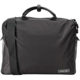 《セール開催中》CALVIN KLEIN メンズ ブリーフケース ブラック ナイロン 80% / ポリウレタン 20% CK PRO LAPTOP BAG