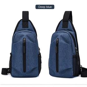 Baggie 軽量ウェアラブル大容量オックスフォードバッグ男性の胸バッグ多機能ファッションカジュアルシンプルなメンズショルダーバッグメッセンジャーバッグ