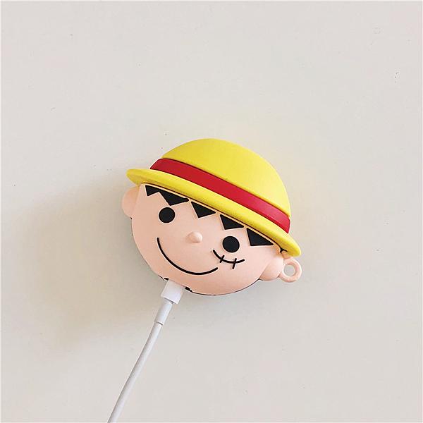 ? Airpods Pro 專用 1/2代 ??台灣發貨 [ 草帽小子 ] 藍芽耳機保護套 蘋果無線耳機保護