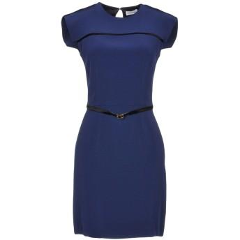 《セール開催中》ALEX VIDAL レディース ミニワンピース&ドレス ブルー 36 80% トリアセテート 20% ポリエステル
