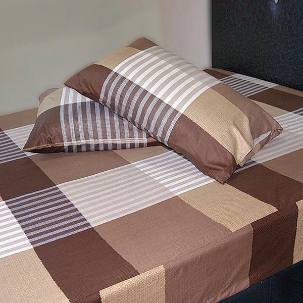 【Victoria】純棉單人床包+枕套二件組-典藏_TRP多利寶
