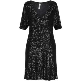 《セール開催中》TENSIONE IN レディース ミニワンピース&ドレス ブラック M ポリエステル 100%