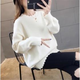 満足度99%↑韓国ファッション おしゃれな CHIC気質 大人気 新品 トレンド 短いスタイル 秋冬物 ゆったりする セーター トップス