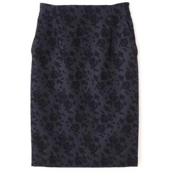 PINKY & DIANNE / ピンキーアンドダイアン フラワージャガードタイトスカート