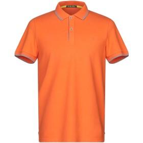 《セール開催中》SHOCKLY メンズ ポロシャツ オレンジ L コットン 95% / ポリウレタン 5%