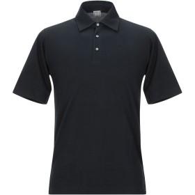 《セール開催中》FEDELI メンズ ポロシャツ ダークブルー 48 コットン 100%