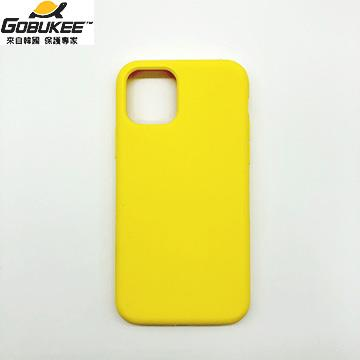 Gobukee iPhone 11 極纖矽膠保護套-黃(GBK0582(奶油黃))