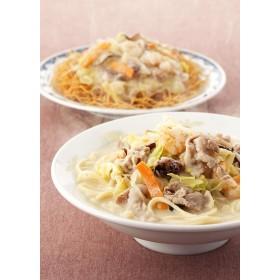 みろくや 具材付きちゃんぽん・皿うどん(揚麺)詰合せ 各2食入